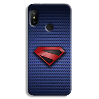 Superman Blue Redmi 6 Pro Case