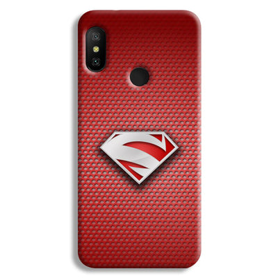 Superman Red Redmi 6 Pro Case