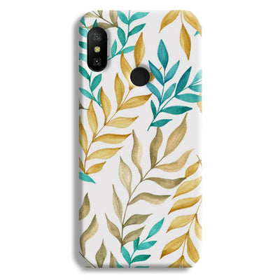 Tropical leaves  Redmi 6 Pro Case