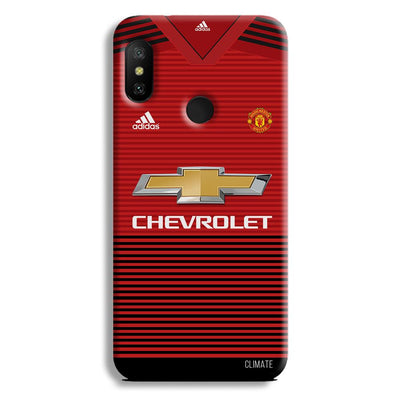 Manchester United Jersey Redmi 6 Pro Case