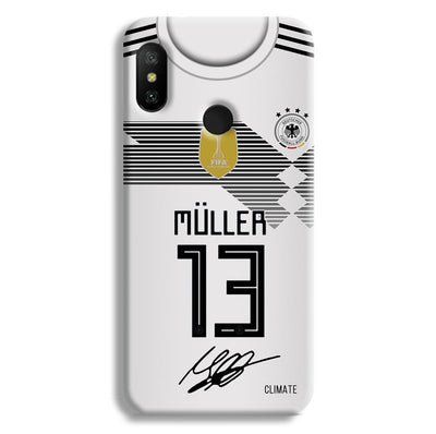 Muller Jersey Redmi 6 Pro Case