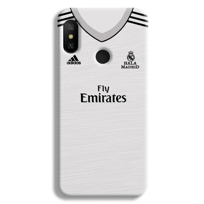 Real Madrid Home Redmi 6 Pro Case