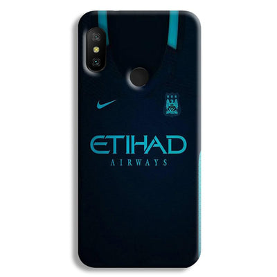 Manchester City Away Jersey Redmi 6 Pro Case