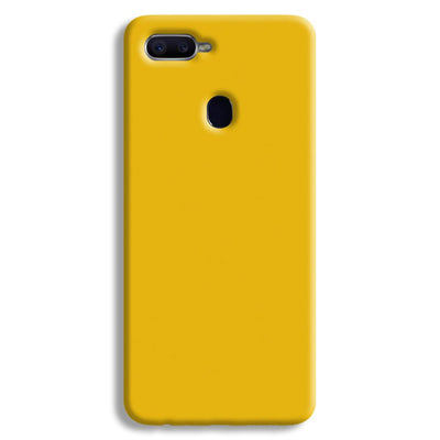 Yellow Crome Redmi A2 Lite Case