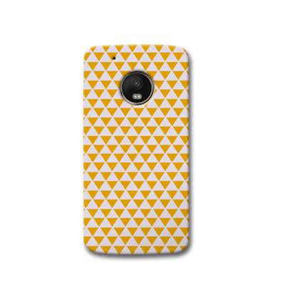 Yellow Triangle Moto G5s Case