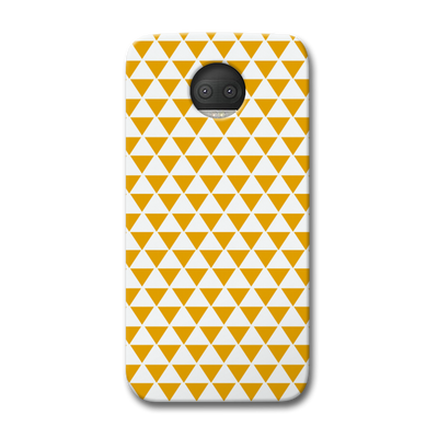 Yellow Triangle Moto G5s Plus Case