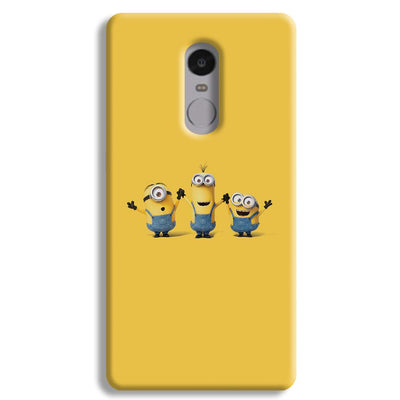 Three Minions Redmi Note 4 Case