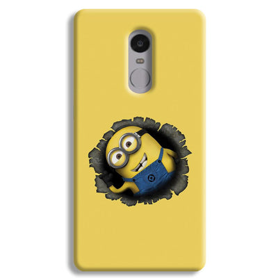 Laughing Minion Redmi Note 4 Case