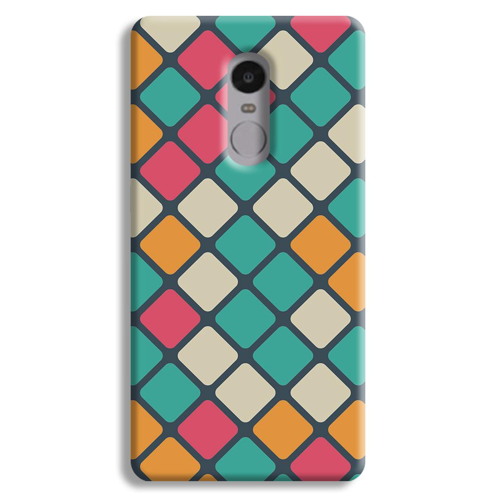 Colorful Tiles Pattern Redmi Note 4 Case
