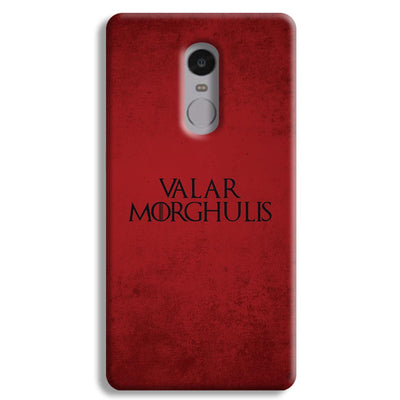 VALAR MORGHULIS Redmi Note 4 Case