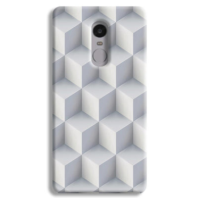 3D Cubes Redmi Note 4 Case