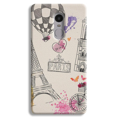 Paris Redmi Note 4 Case