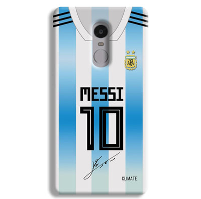 Messi Jersey Redmi Note 4 Case