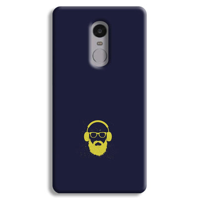 Bearded Man Redmi Note 4 Case