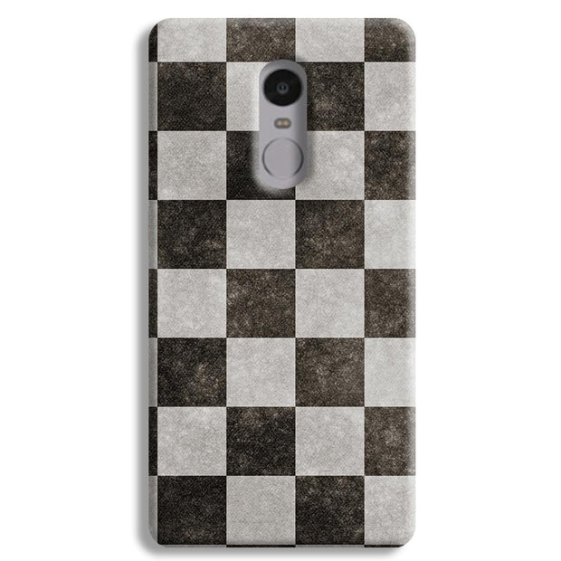 Checkered  Redmi Note 4 Case