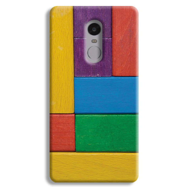 Color Block Redmi Note 4 Case