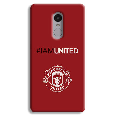 I Am United Redmi Note 4 Case