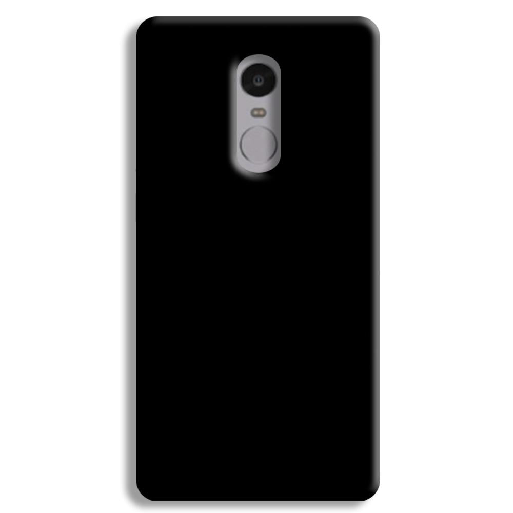 Black Redmi Note 4 Case