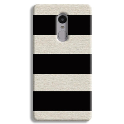 Black & White  Redmi Note 4 Case