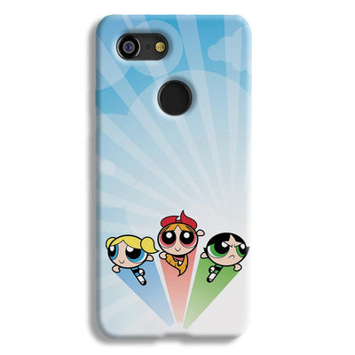 The Powerpuff Girls Google Pixel 3 Case