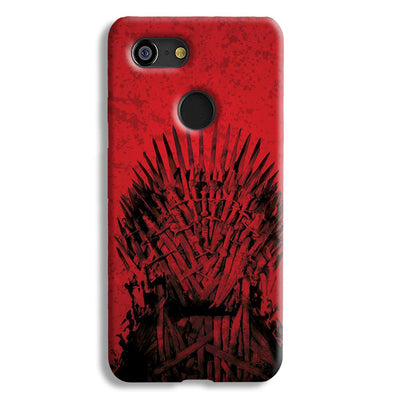 Red Hot Iron Thrones Google Pixel 3 Case