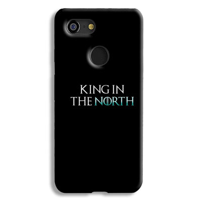 King in The NORTH Google Pixel 3 Case
