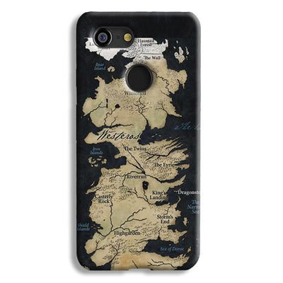 Game of Thrones Map Google Pixel 3 Case