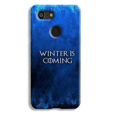 Winter is Coming Google Pixel 3 Case
