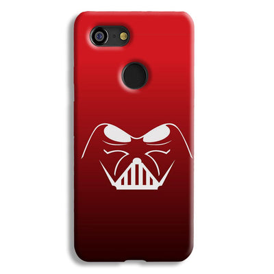 darth vader-Red Google Pixel 3 Case