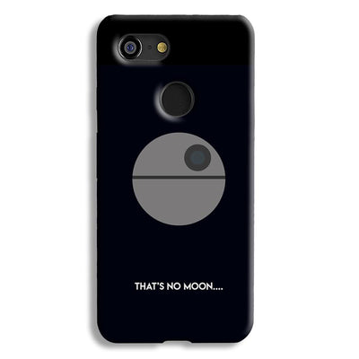 That's No Moon Google Pixel 3 Case