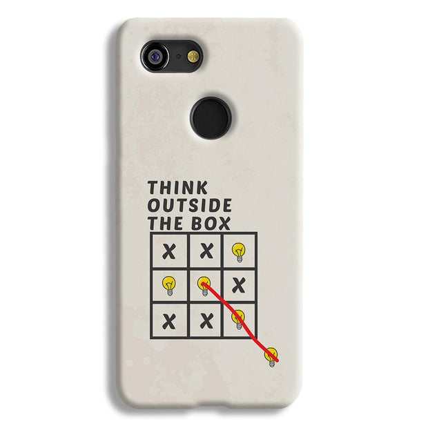 Think Outside the Box Google Pixel 3 Case