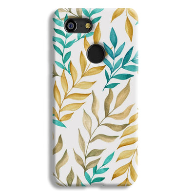 Tropical leaves  Google Pixel 3 Case