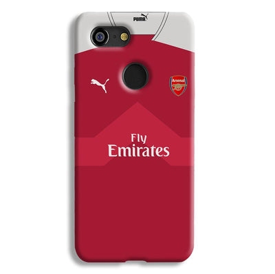 Arsenal F.C. Jersey Google Pixel 3 Case