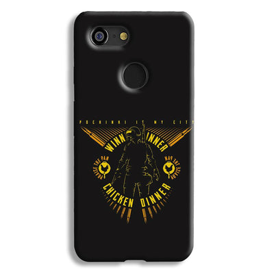 Pubg Playerunknowns Battlegrounds Google Pixel 3 Case