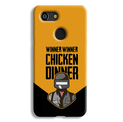 Pubg Chicken Dinner Google Pixel 3 Case