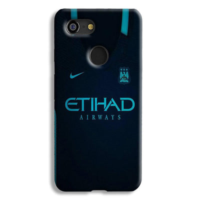 Manchester City Away Jersey Google Pixel 3 Case