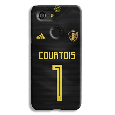 Thibaut Courtois of Club Jersy Google Pixel 3 Case