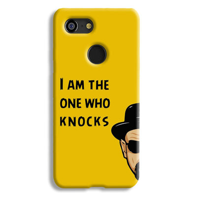 I Am The One Who Knocks Google Pixel 3 Case