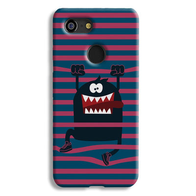 Laughing Monster Google Pixel 3 Case