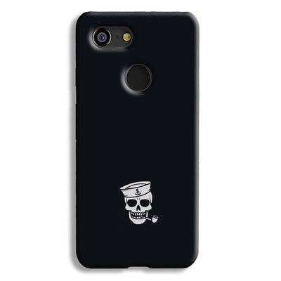 Smoking Skull Google Pixel 3 Case