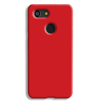 Light Red Google Pixel 3 Case