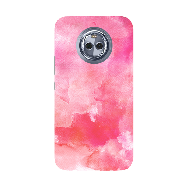 Pink Resonance  Moto X4 Case