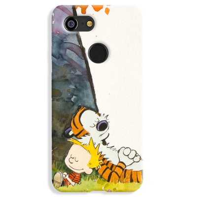 Calvin And Hobbes Google Pixel 3 Case