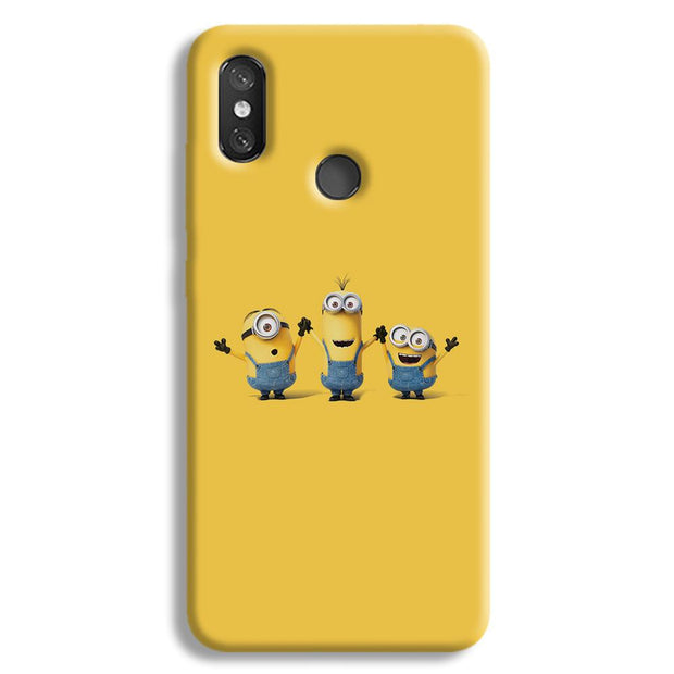 Three Minions Redmi 8 Case