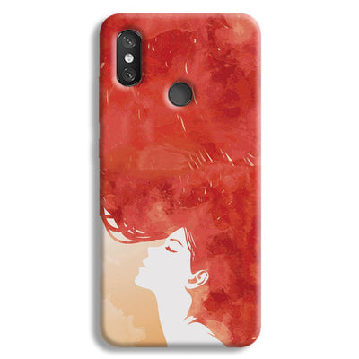Red Cause Redmi 8 Case