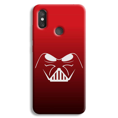 darth vader-Red Redmi 8 Case