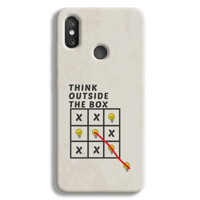 Think Outside the Box Redmi 8 Case