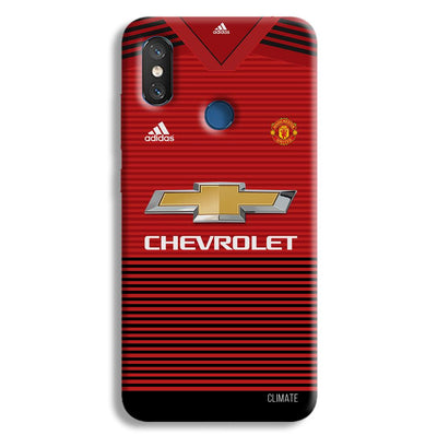Manchester United Jersey Redmi 8 Case