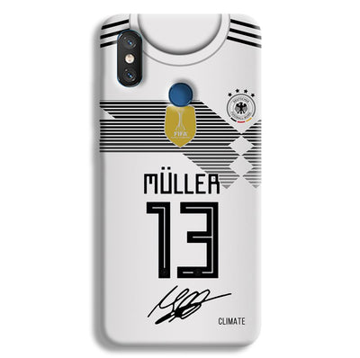 Muller Jersey Redmi 8 Case