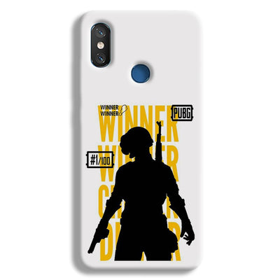 Pubg Winner Winner Redmi 8 Case